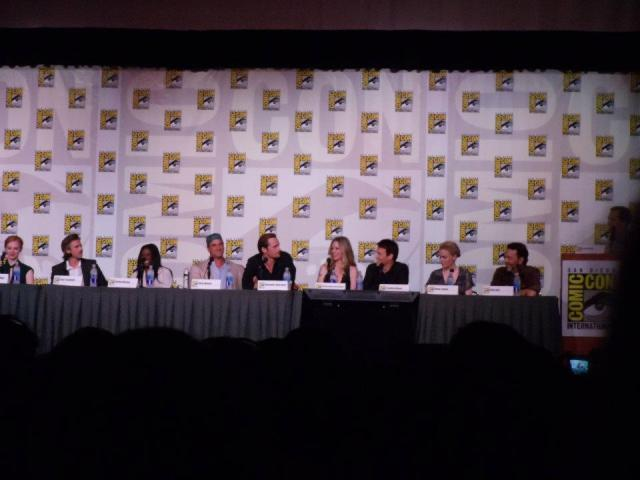 The cast of True Blood at San Diego Comic-Con, 2012